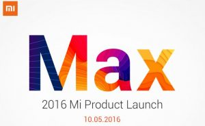 Xiaomi MI MAX procuct launch