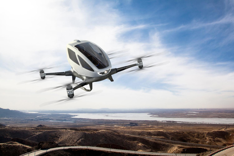 Ehang 184: O Drone táxi