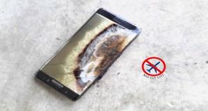 Galaxy Note 7 filmado a arder no Burger King