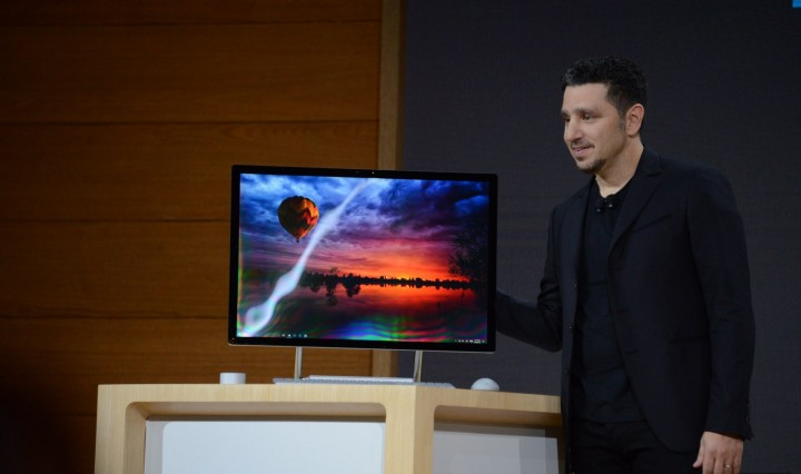 Microsoft apresenta o seu primeiro desktop: Surface Studio