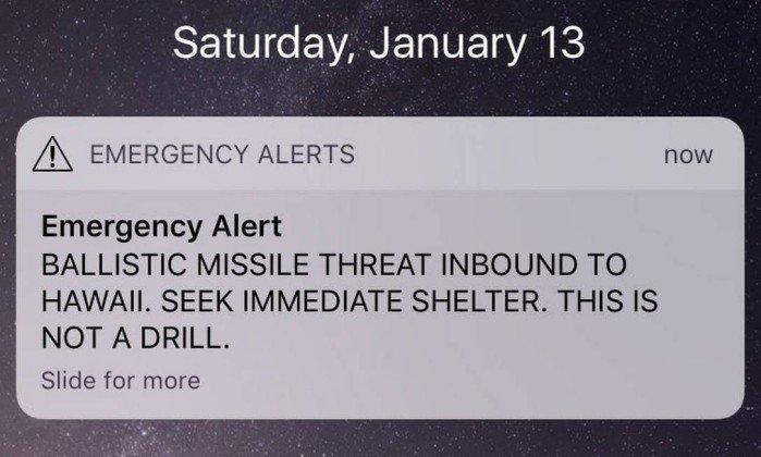 Ameaça de ataque no Hawai e o Pornhub duplica visitas