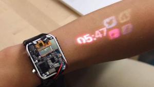 LumiWatch: Transforma o teu braço num ecrã tátil