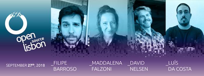 Foram anunciados mais 4 oradores do Open Source Lisbon 2018