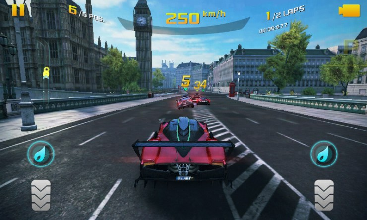 Gaming App Review: Asphalt 8 Airborne