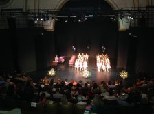 Many a show at the beautiful Langston Hughes Performing Arts Institute.