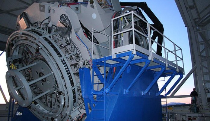 The Lowell Observatory Discovery Channel Telescope in Arizona is the new home for the EXPRES spectrometer.