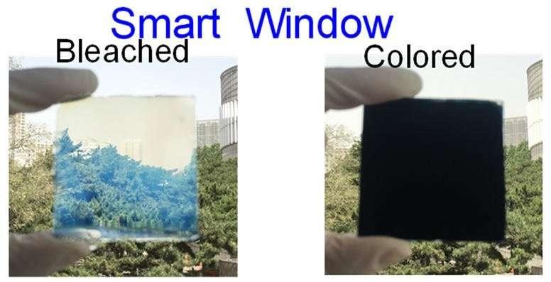 Smart window controls light and heat, kills microorganisms