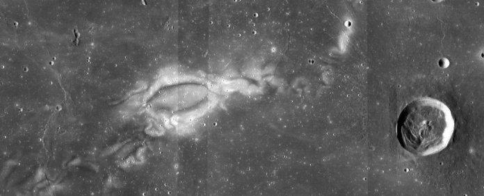 Reiner Gamma, the most famous lunar swirl