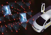 A mysterious process called oxygen oxidation strips electrons from oxygen atoms in lithium-rich battery cathodes and degrades their performance. Better understanding this property and controlling its effects could lead to better performing electric vehicles. (Credit: Gregory Stewart/SLAC National Accelerator Laboratory)