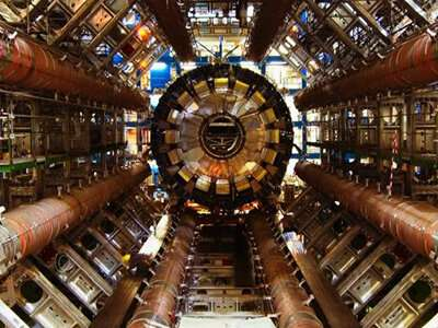 The Large Hadron Collider (LHC) in Switzerland is the world's biggest, most powerful particle accelerator. Credit: CERN