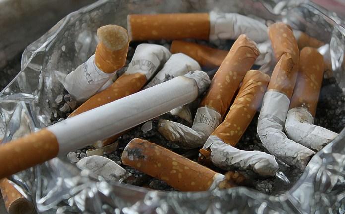 Cigarettes, Ash, Tilt, Smoking