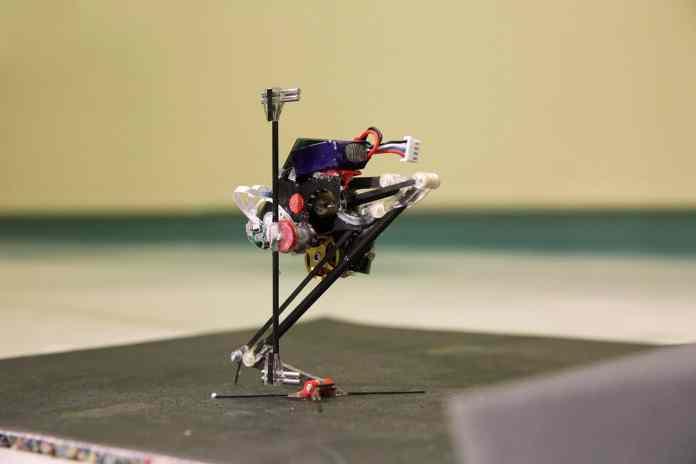 Salto, the jumping robot