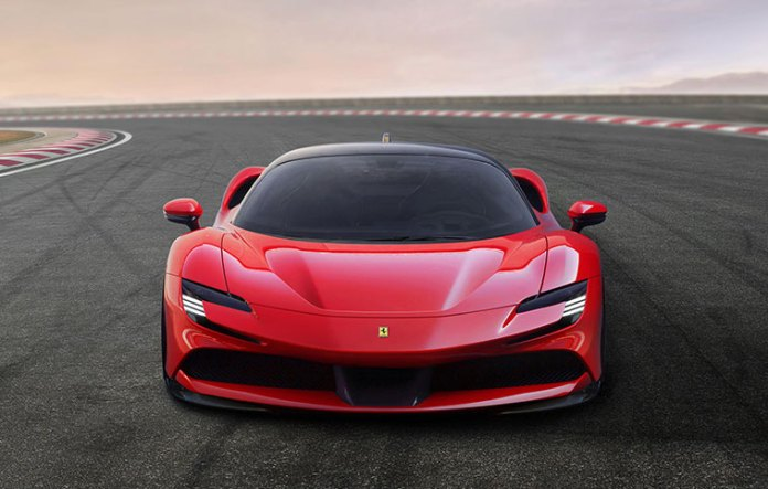 V 8 engine and three motors together produce as much as 986 horsepower
