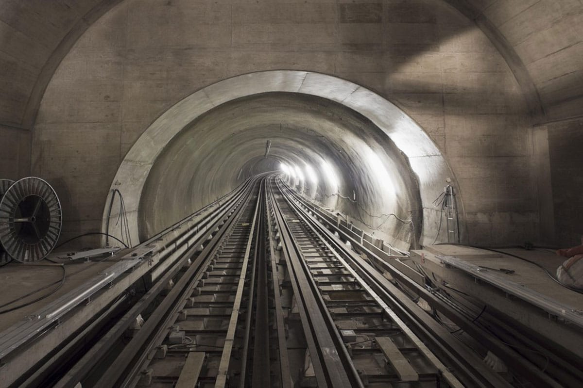 Researchers precisely quantified convection heat transfer in rail tunnels