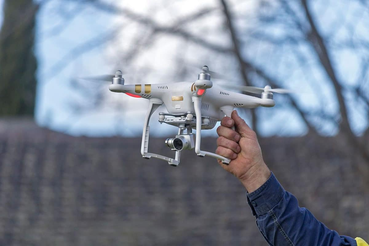 Drones to protect Vineyards