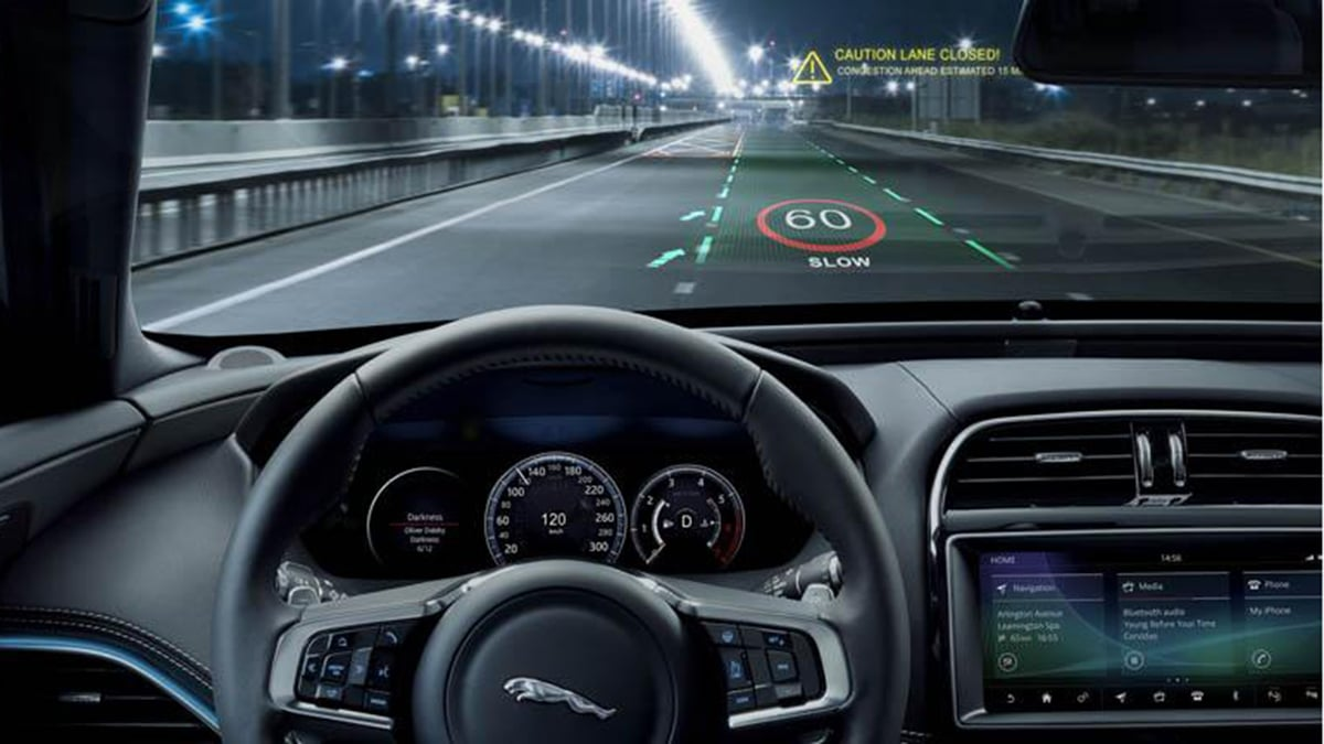 Engineers are working on an advanced 3D head-up display for in-car use