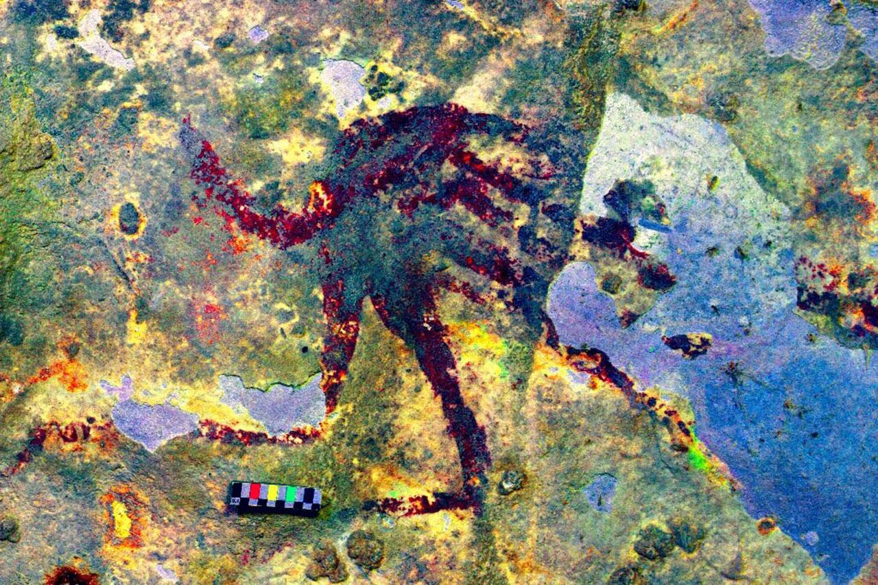 World's oldest figurative artwork uncovered