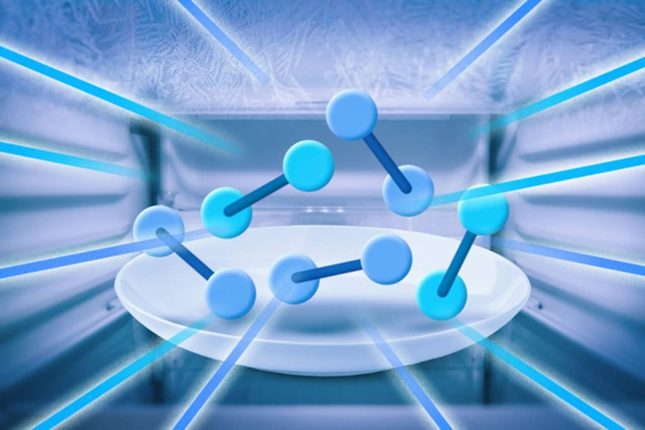 Cooling molecules to nanokelvin temperatures