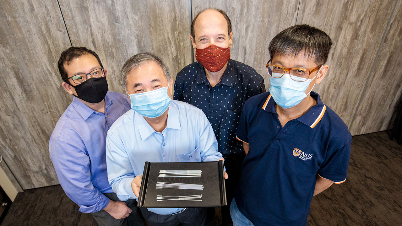 Researchers develop novel COVID-19 swabs to address global and local shortage