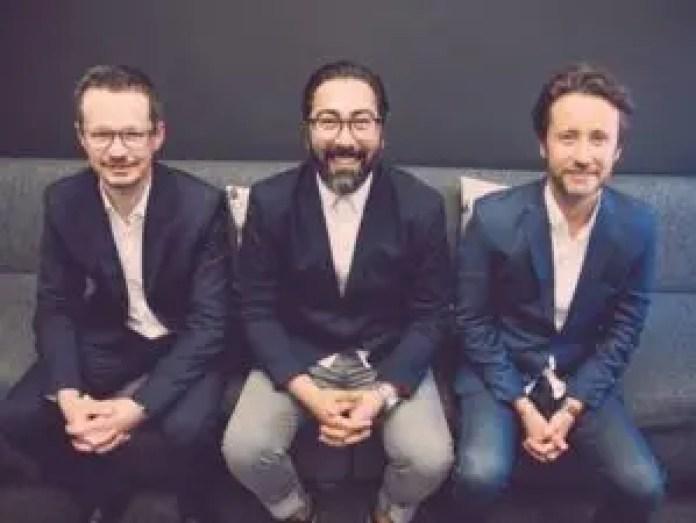 Jaco de Wet (Technical Executive at Capacitech), Nick Argyros (Entrepreneur & Founder of GotBot), Matthew Emanuel (Managing Director at Capacitech).