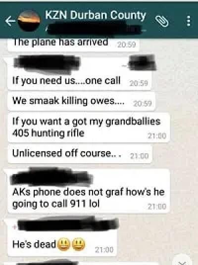 WhatsApp Group Screenshot