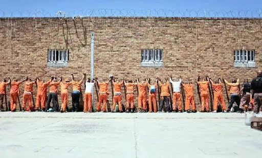 south african prison
