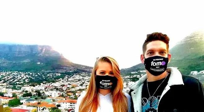 fomo Founders Jacqueline du Plessis and Ryan Marx