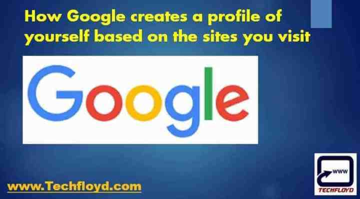 google profile site visit