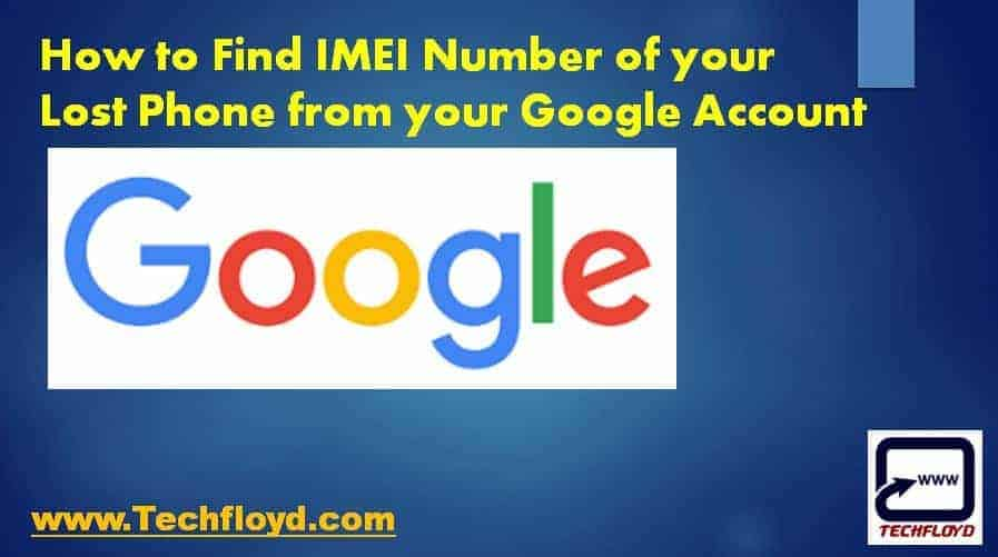 how to find the imei number in gmail