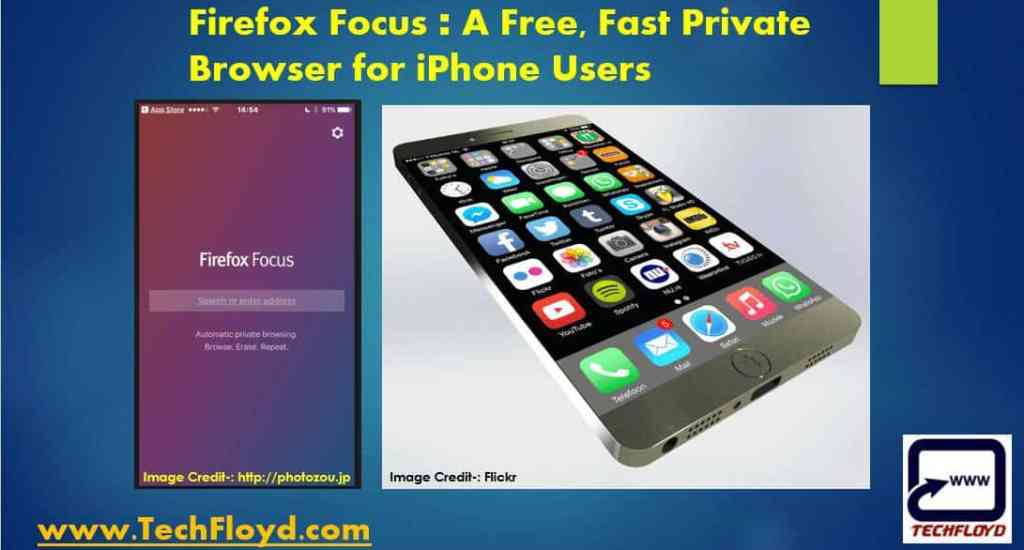 Firefox Focus A Free, Fast Private Browser for iPhone Users