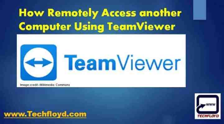remotely-access-computer-teamviewer