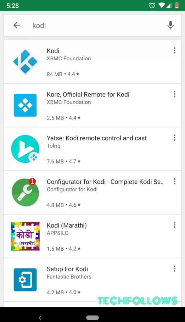 How to install Kodi on Android