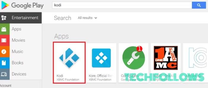 Kodi on Android Box