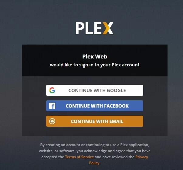 Plex App on Windows
