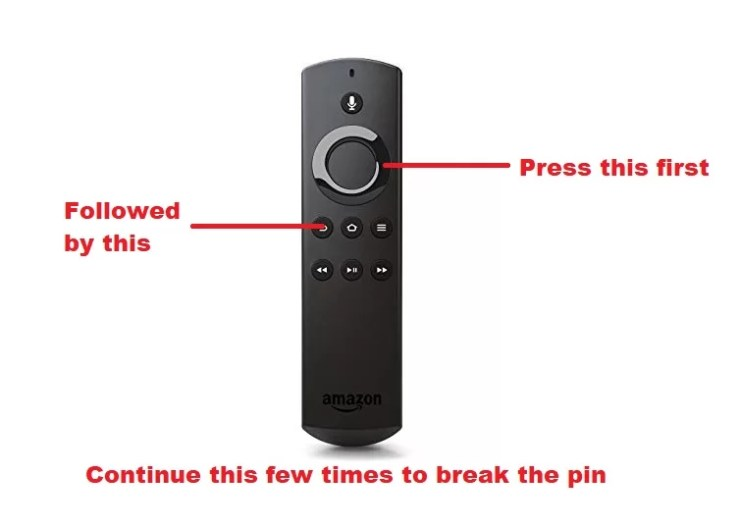 Reset Firestick Without PIN