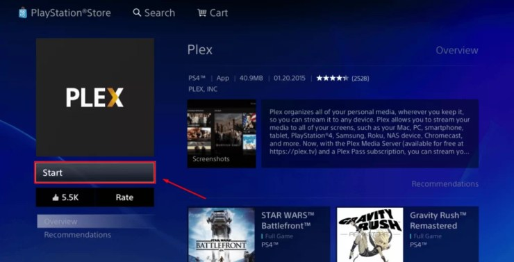 Kodi for PS4 and PS3