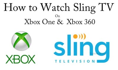 Sling TV on Xbox One and Xbox 360