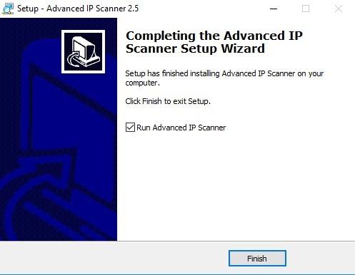 Advanced IP Scanner