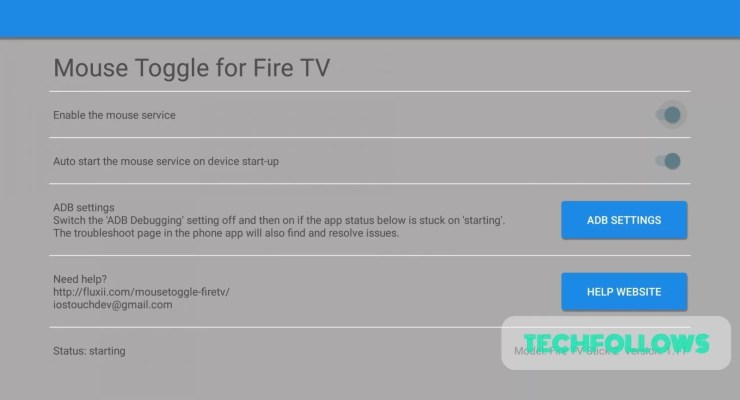 Google Chrome on Firestick