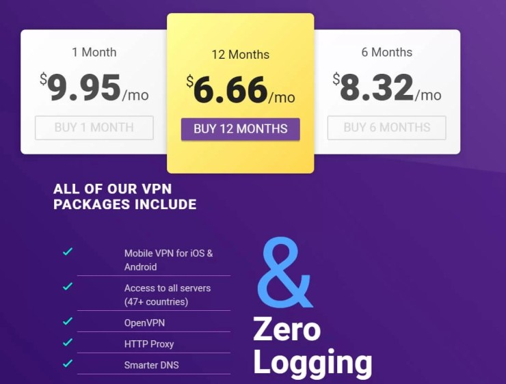 VPNSecure Price