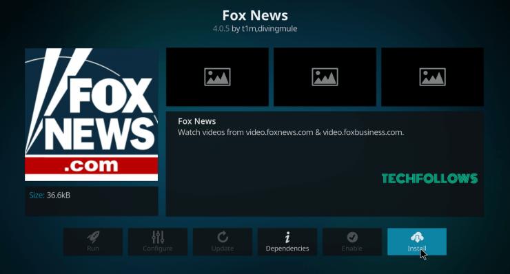 Fox News on Kodi