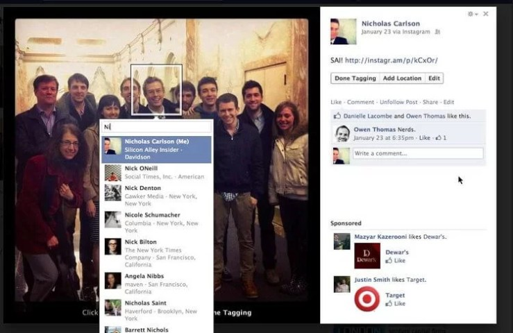 How to Tag Someone on Facebook Photos