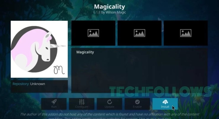 Magicality Kodi Addon