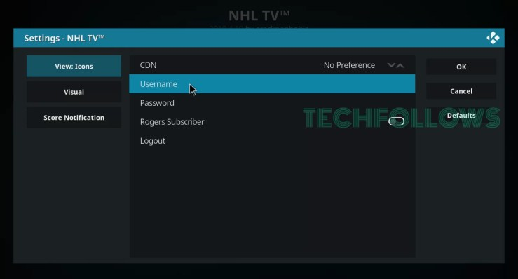 NHL on Kodi