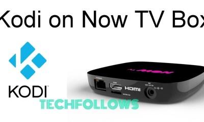 Kodi on Now TV Box