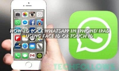 How to Lock Whatsapp in iPhone