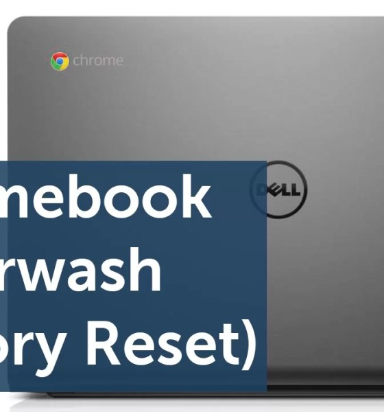 Reset Chromebook