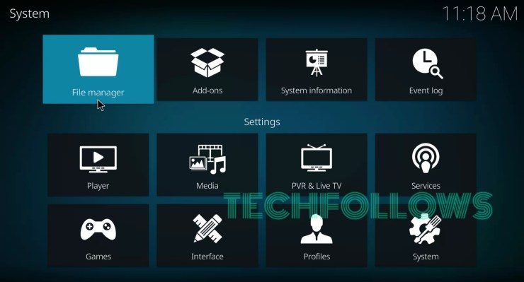 Select File Manager