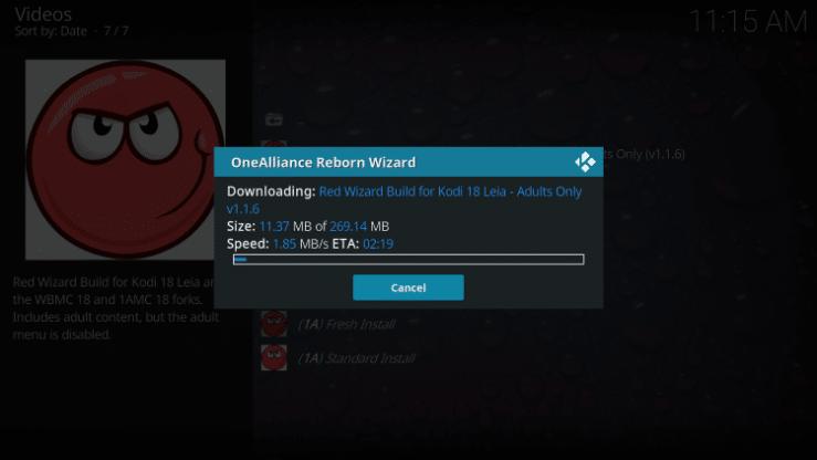 Red Wizard Kodi Build