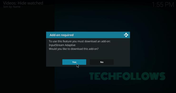 Download InputStream Addon